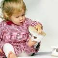 Мозоль у ребенка