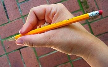 Мозоль на пальце от ручки